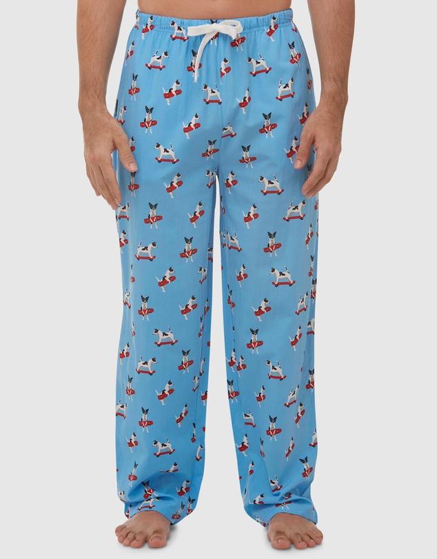 Men Jack Russell Bamboo Sleep Pants