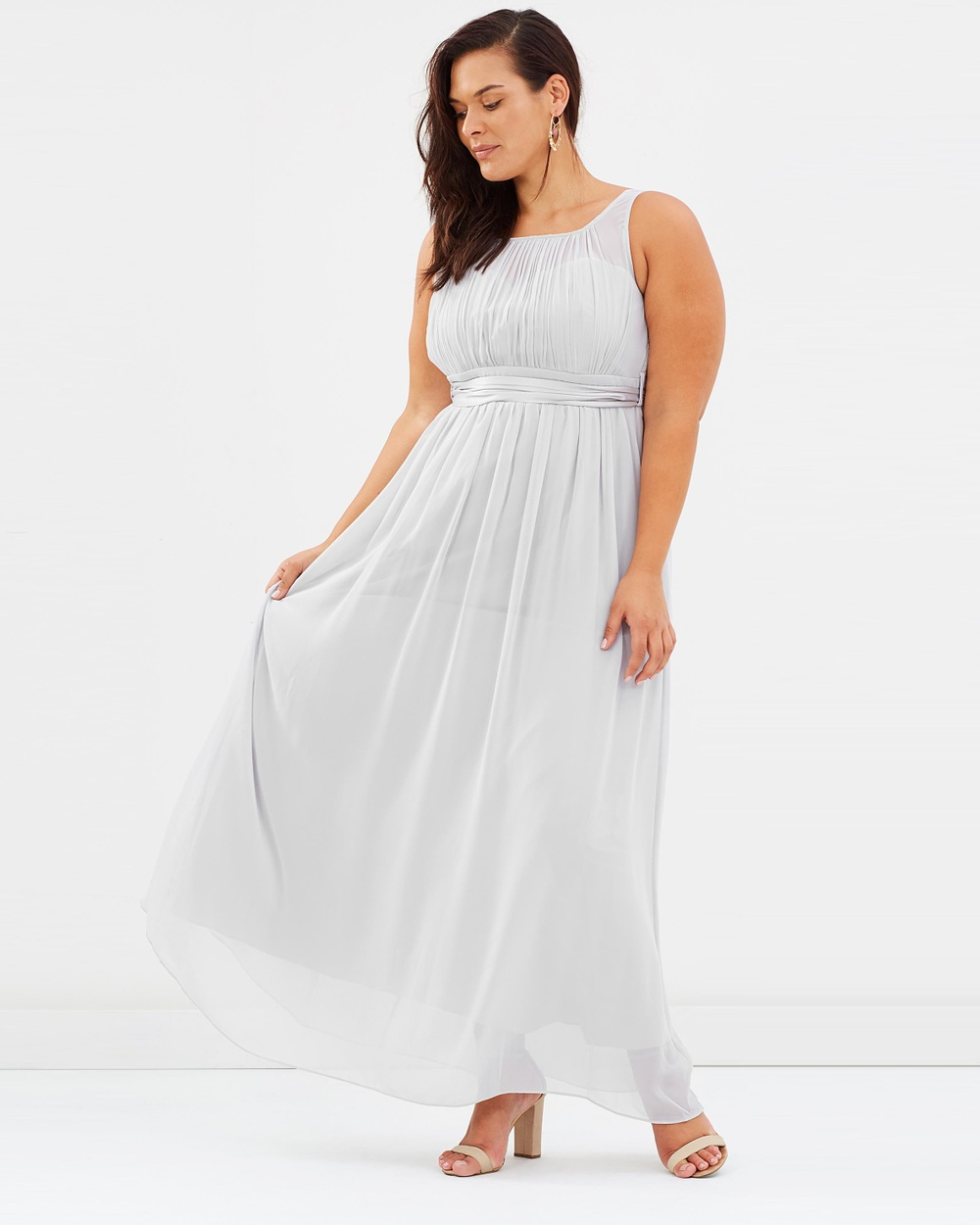 DP Curve Natalie Maxi Dress Bridesmaid Dresses Dove Grey Natalie Maxi Dress