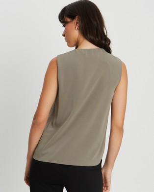 Willa Montanah Top - Tops (Sage Green)