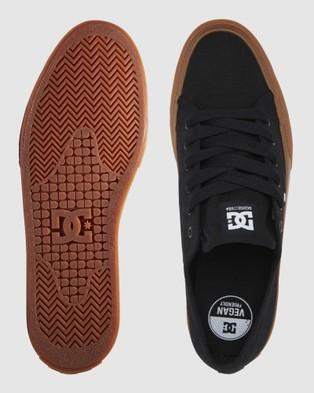 DC Shoes Mens Manual Shoe - Sneakers (Black/Gum)