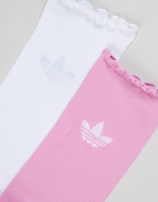 Women Sheer Crew Socks 2-Pack