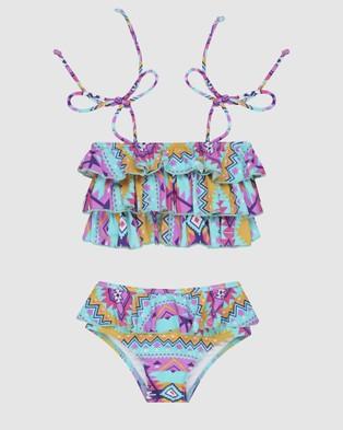Infamous Swim Poppy Bikini Set - Bikini Set (Print)