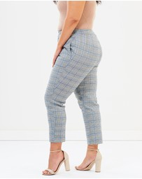 Atmos&Here Curvy - ICONIC EXCLUSIVE - Tyla Check Pants