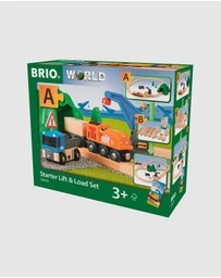 BRIO - Set - Starter Lift & Load Set A 19 Pieces
