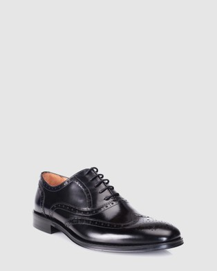 3 Wise Men The Prince - Dress Shoes (Black)