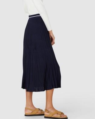 Elka Collective Palmer Knit Skirt - Skirts (Navy)