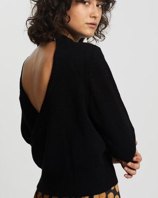 M.N.G Arenal Sweater - Jumpers & Cardigans (Black)