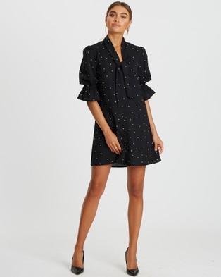 Reux Verona Mini - Dresses (Black Base Polka)