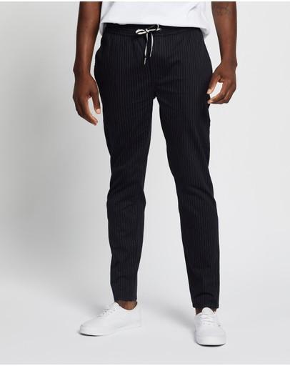 Barney Cools B.slim Elastic Pants Black