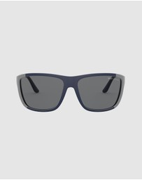 Polo Ralph Lauren - Injected Man Sunglasses