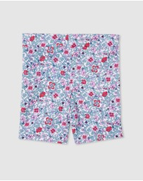 Milky - ICONIC EXCLUSIVE - Antique Floral Bike Shorts - Kids