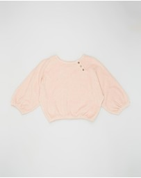 Feather Drum - Quinn Sweater - Kids