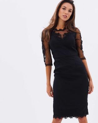 Chi Chi London – Eloise Dress – Dresses (Black)