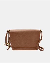 Fossil - Maya Brown Small Crossbody Bag
