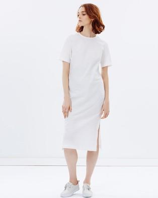 Gary Bigeni – Mikal Half Sleeve Dress – Dresses (White)