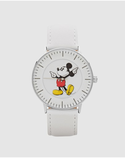 Disney - Formal Mickey Silver Watch