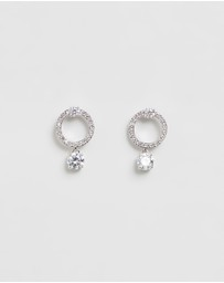 Swarovski - Attract Circle Earrings