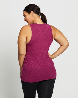 adidas Performance Winners Tank Top   Plus Size - Muscle Tops (Power Berry Mel)