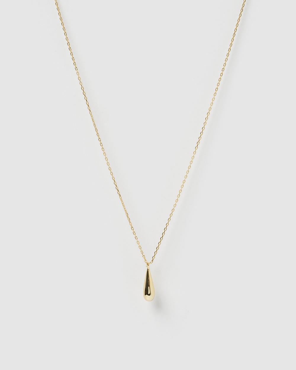 Izoa Cora Necklace Jewellery Gold