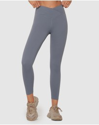 Lorna Jane - Wrap Around Ankle Biter Leggings