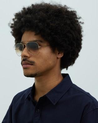 Ray-Ban - Aviator RB3025 Sunglasses (Gradient Brown)