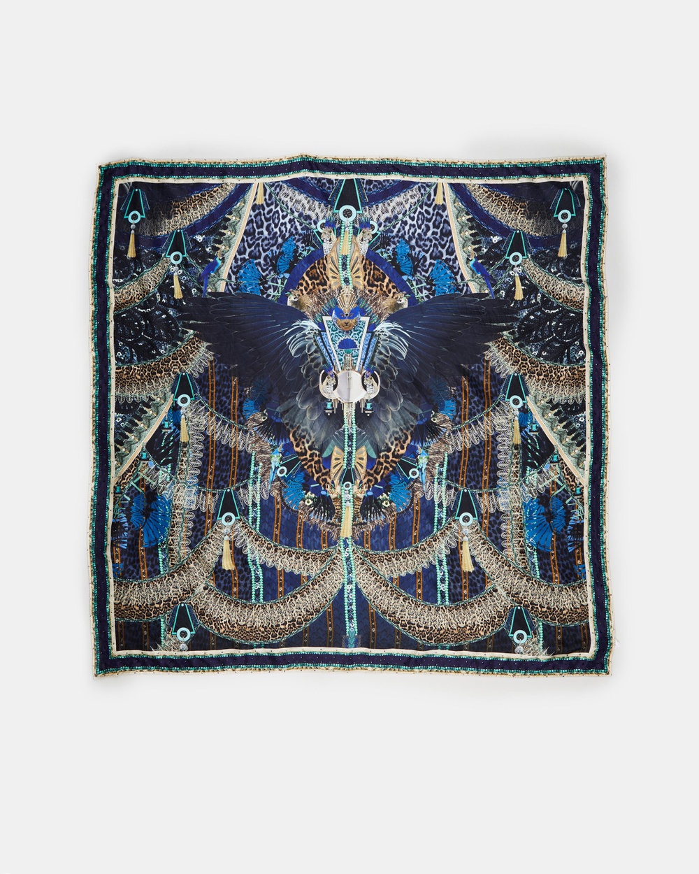 Camilla Large Square Scarf Scarves & Gloves Dripping In Deco