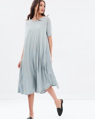 Primness – Pop Midi Dress – Dresses (Dove Grey)