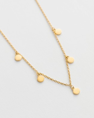 Kirstin Ash Travel Stories Necklace - Jewellery (Gold)