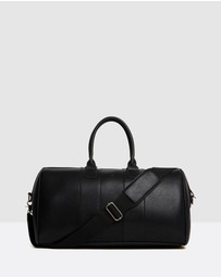 French Connection - Leather Look Weekender Bag