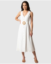 Forever New - Mina A-line Belted Midi Dress