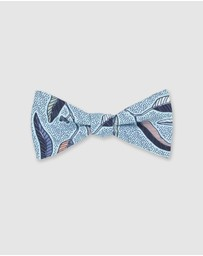 Peggy and Finn - Eucalyptus Bow Tie