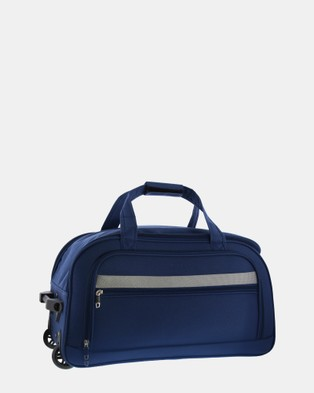 Cobb & Co Devonport Small Wheel Bag - Travel and Luggage (BLUE)