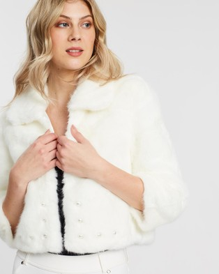 Unreal Fur Precious Jacket - Coats & Jackets (Ivory)