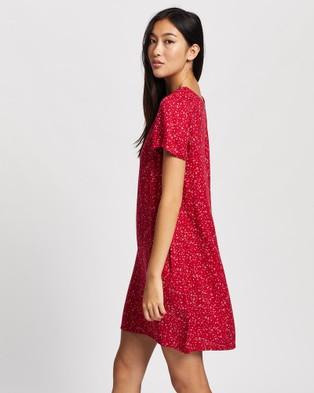 All About Eve Flourishing Shift Dress - Printed Dresses (Print )