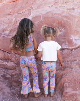 Amber Days Wirirri Bell Bottoms - Pants (Pink)