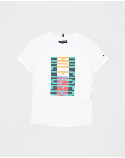 Tommy Hilfiger - Fun Flag SS Tee - Teens