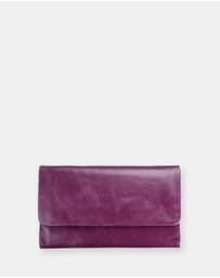 Status Anxiety - Audrey - Purple Wallet