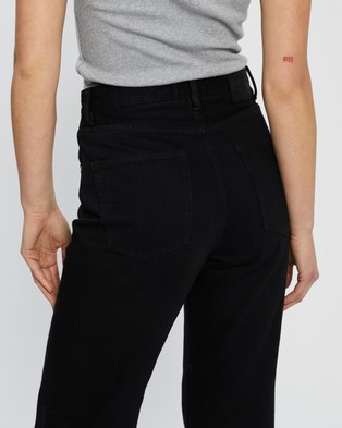 Neuw Edie Straight Jeans - Jeans (Earthen Black)