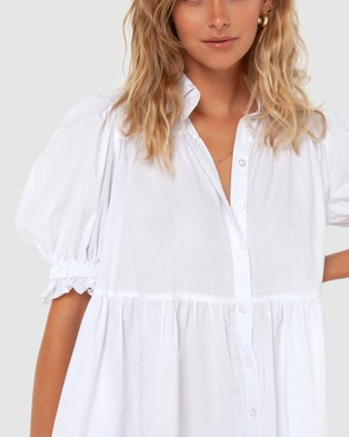 Madison The Label Cecilie Dress - Dresses (White)