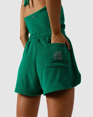 The Wolf Gang Cabo Terry Short - All gift sets (Green)