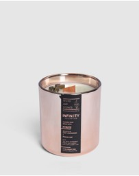 Wicks & Stones - Candle with Pyrite