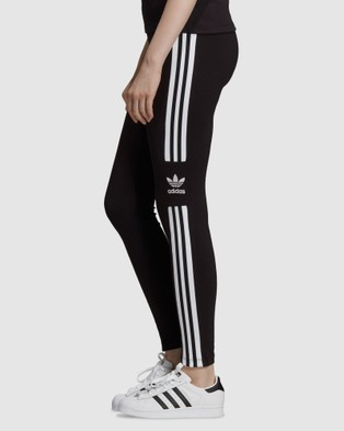 adidas Originals LOUNGEWEAR Trefoil Tights - Sports Tights (Black)