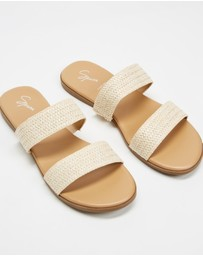 SPURR - Eimear Wide Fit Slides
