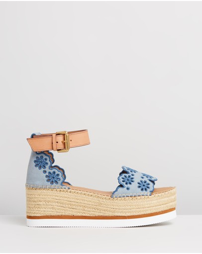 See By Chloé - Scalloped Edge Flatforms