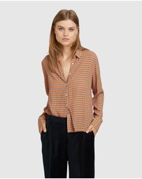 Oxford - Poppy Printed Blouse
