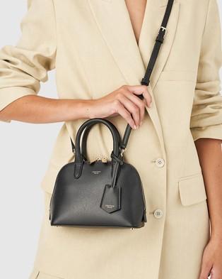Oroton - Muse Micro Grip Top - Bags (Black) Muse Micro Grip Top