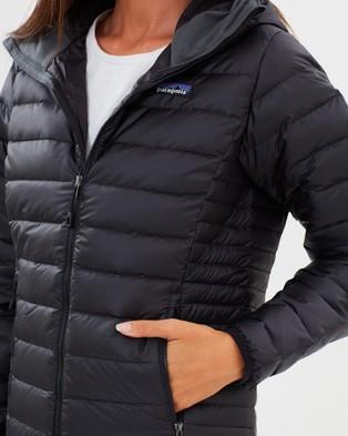 Patagonia Women's Down Sweater Hoodie - Sweats & Hoodies (Black)