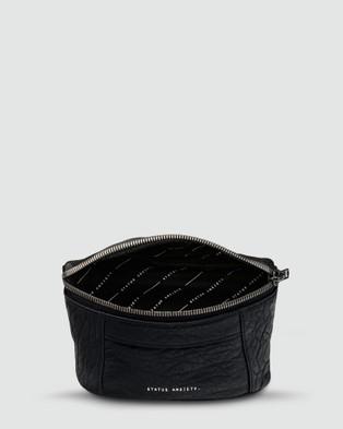 Status Anxiety Best Lies Bum Bag - Bum Bags (Black Bubble)