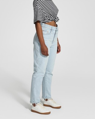Nobody Denim Petite Frankie Ankle Stretch Petite Jeans - Crop (Glimmered)