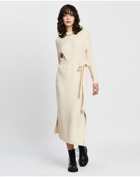 Staple the Label - Storm Knitted Midi Dress